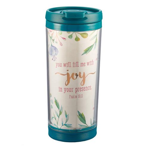 Travel Mug Polymer Fill Me with Joy