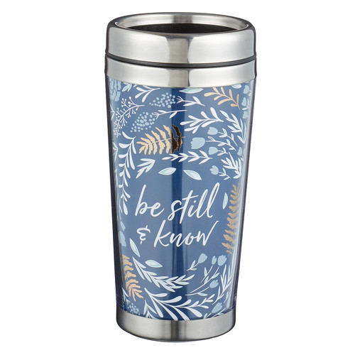 Be Still - Psalm 46:10 Polymer Travel Mug