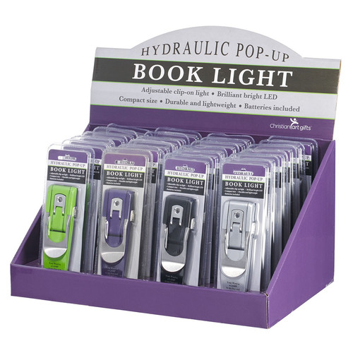 Hydraulic Pop-up Booklight Merchandiser