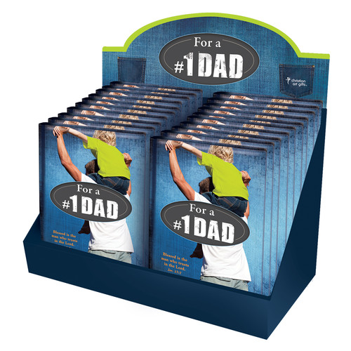 For a #1 Dad Gift Book Merchandiser