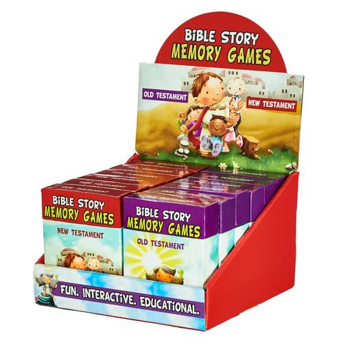 Bible Story Memory Games Merchandiser