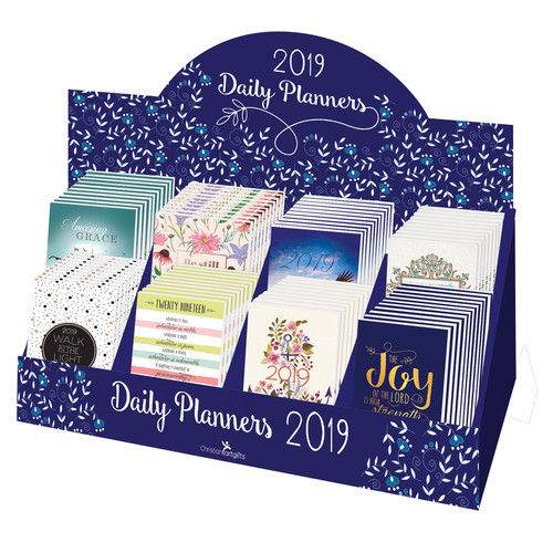 2019 Small Daily Planners Merchandiser
