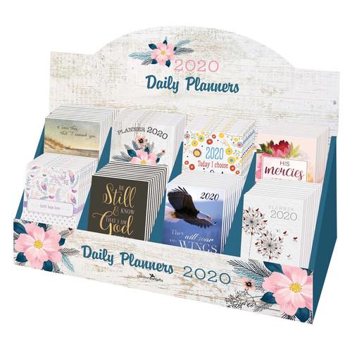 2020 Small Daily Planner Merchandiser