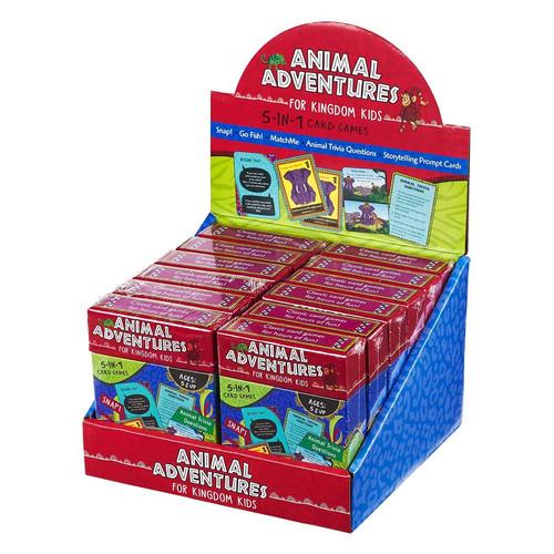 Animal Adventures for Kingdom Kids Merchandiser