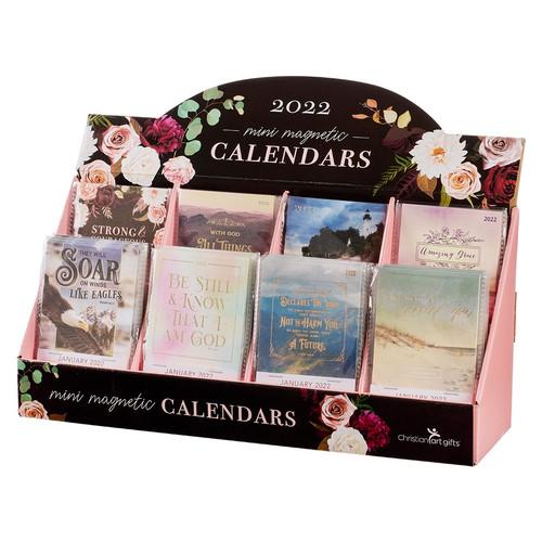 2022 Mini Magnetic Calendar Merchandiser