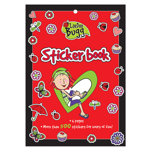LaeDee Bug Sticker Book