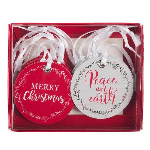 Peace on Earth Christmas Gift Tag Set