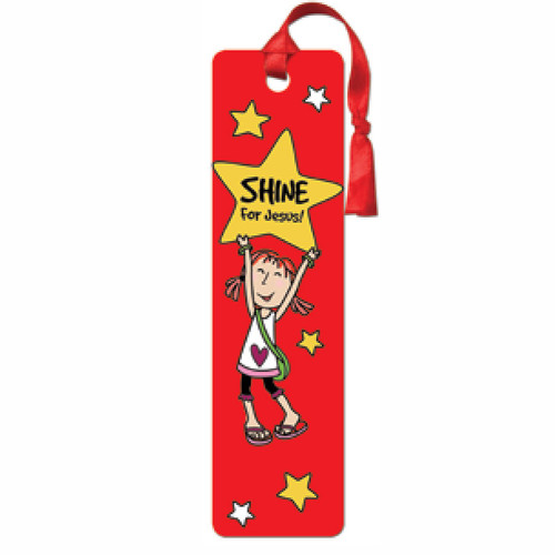 LaeDee Bugg Shine for Jesus! - Tassle Bookmark