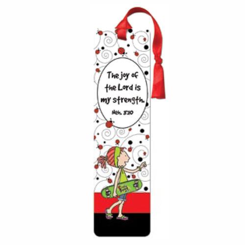 LaeDee Bugg The joy of the Lord - Tassle Bookmark