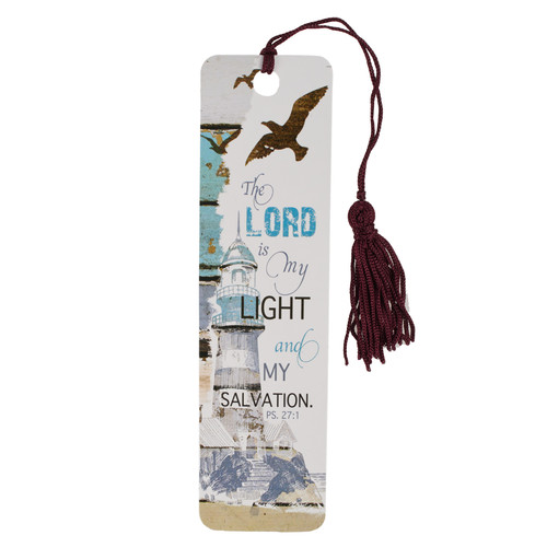 The Lord Is My Light Bookmark - Psalm 27:1