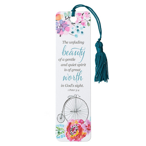 Unfading Beauty Bookmark - 1 Peter 3:4