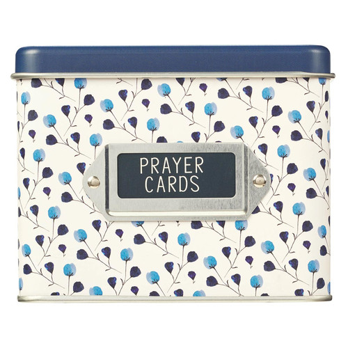 Prayers for a Moms Heart Prayer Cards in Tin - Proverbs 31:30