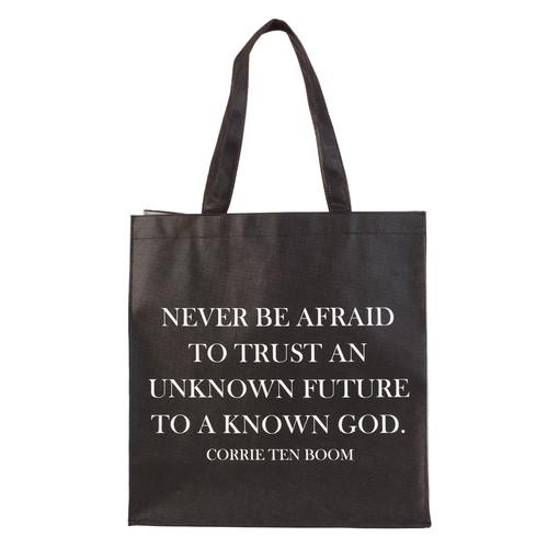 Never Be Afraid - Corrie Ten Boom Tote Bag