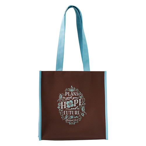 Hope and Future - Jeremiah 29:11 Polyester Tote Bag