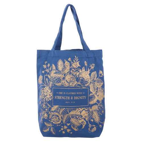 Cotton Tote Bag: Strength and Dignity