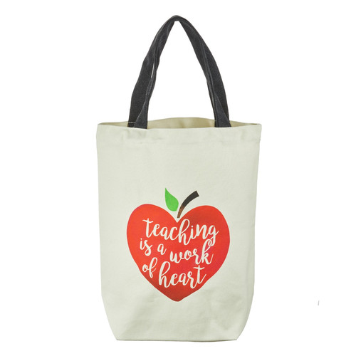 Teaching Is a Work of the Heart Tote Bag