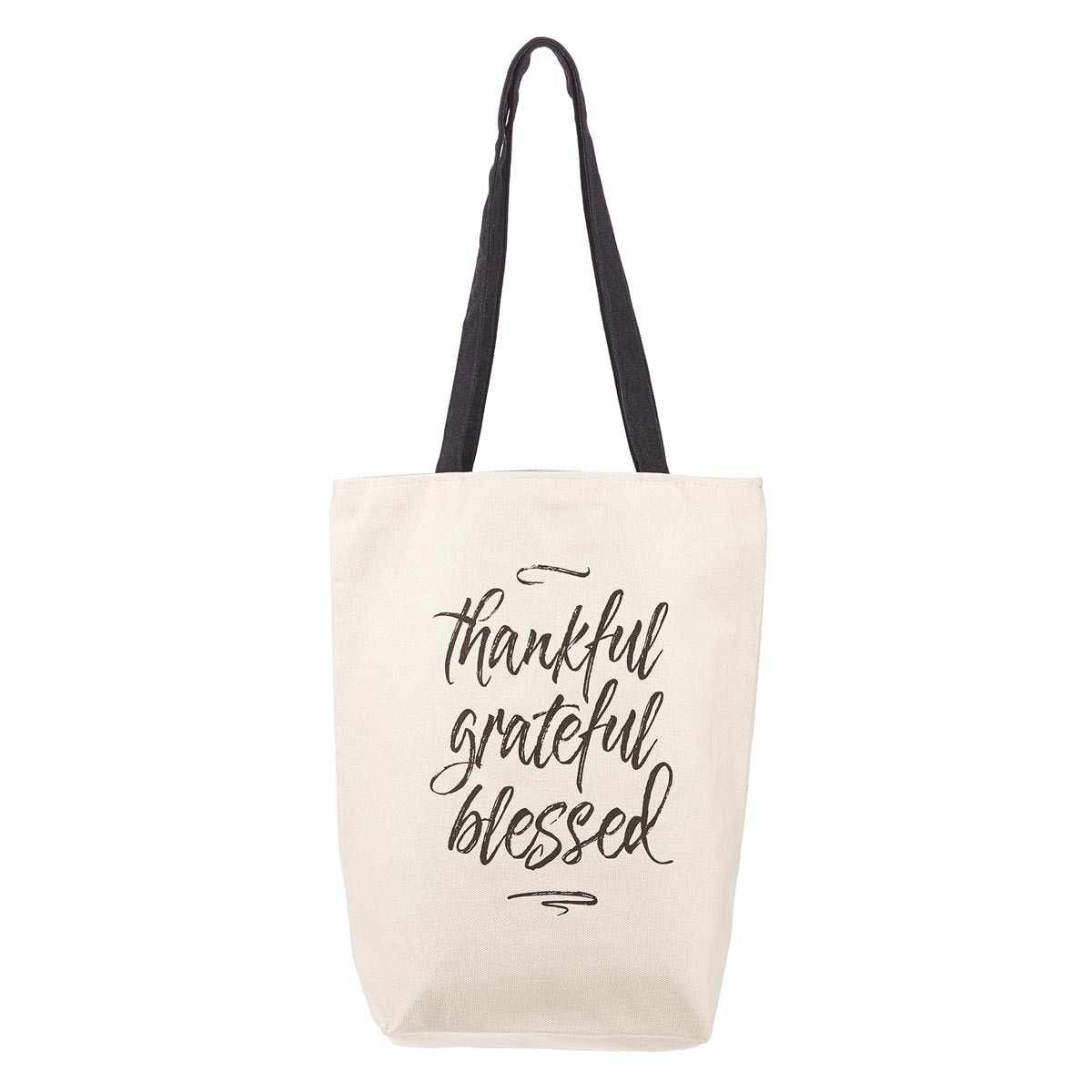Start Each Day With a Grateful Heart Inspirational Tote Bag