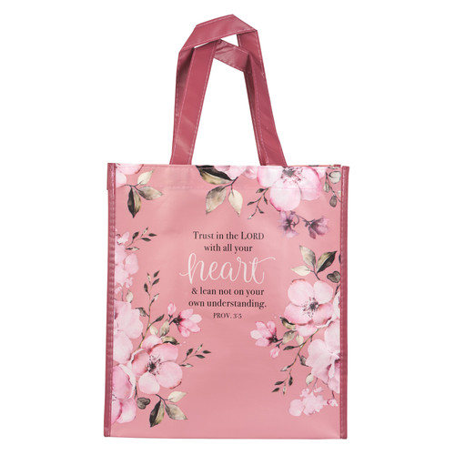 Trust In The Lord Shopping Bag - Proverbs 3:5