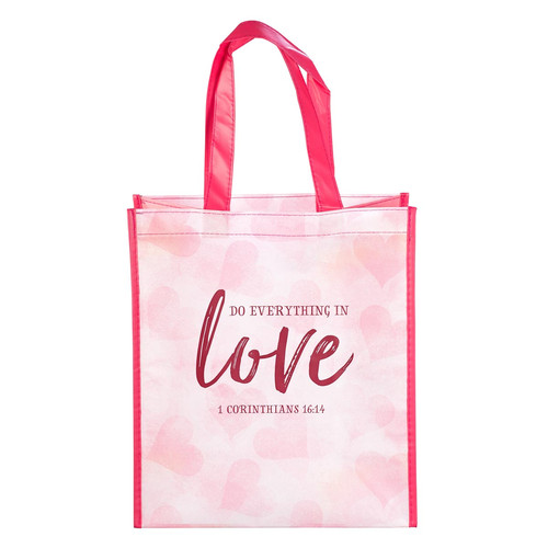Do Everything in Love Shopping Bag - 1 Corinthians 16:14