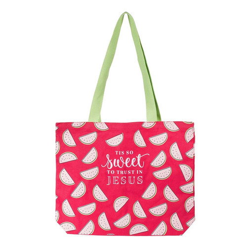 Tis So Sweet Canvas Tote