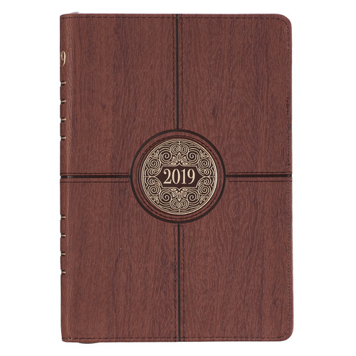 2019 Executive Planner with zipper closure: I Can Do All Things - Philippians 4:13