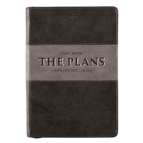 Jeremiah 29:11 - 2019 Executive Planner with zipper closure
