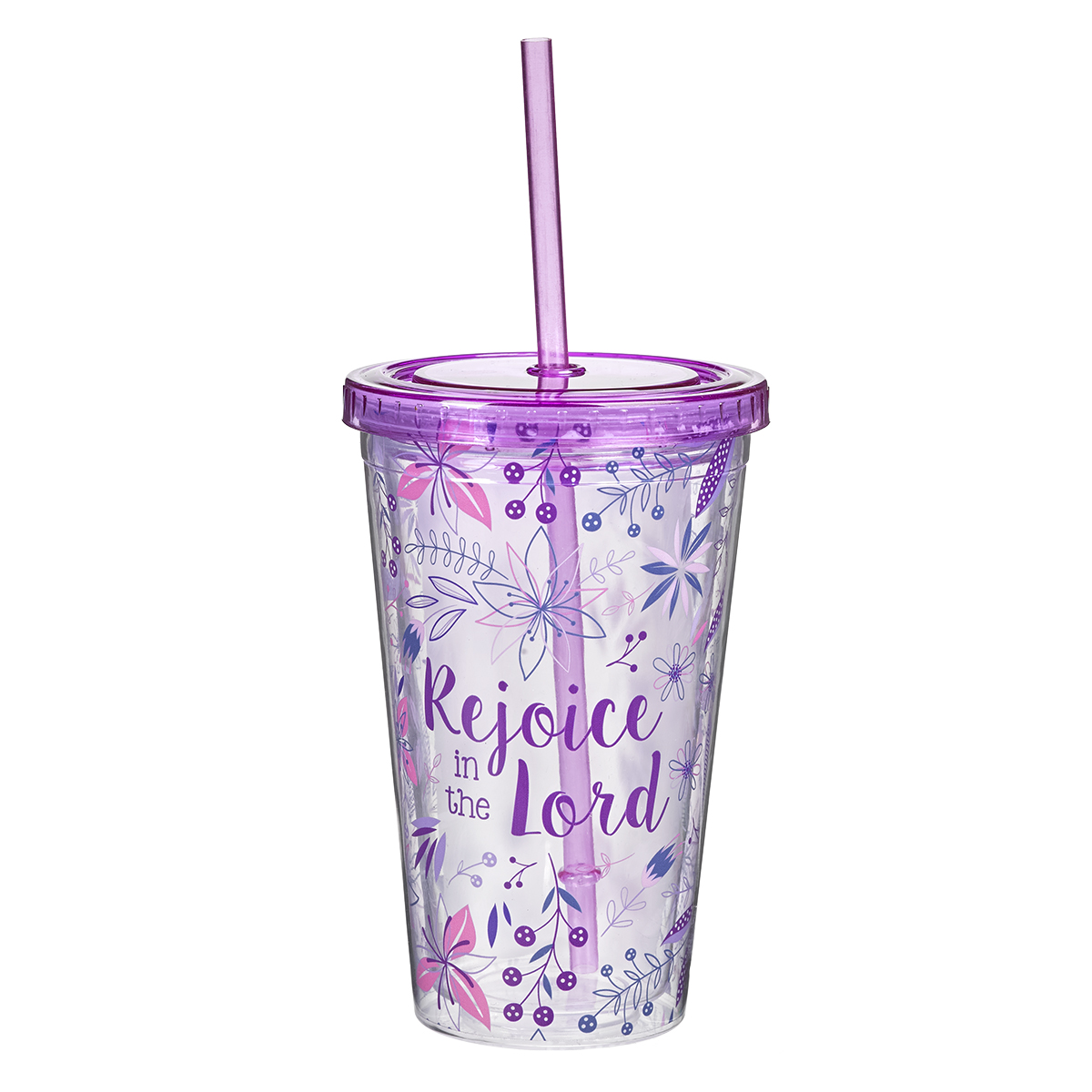 12 Ounce With God All Things Are Possible Matthew 19:26 Double Wall Tumbler