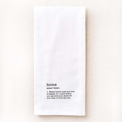 Home Tea Towel