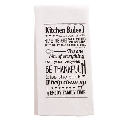 Kitchen Rules Tea Towel