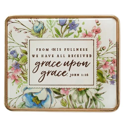Visor Clip: Grace Upon Grace - John 1:16