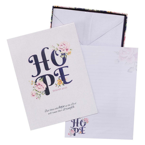 Hope Writing Paper and Envelope Set